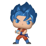 Funko POP! Animation: Dragon Ball Z - SSGSS Goku Kamehameha (Metallic) Vinyl Figure - Geek Nation Exclusive