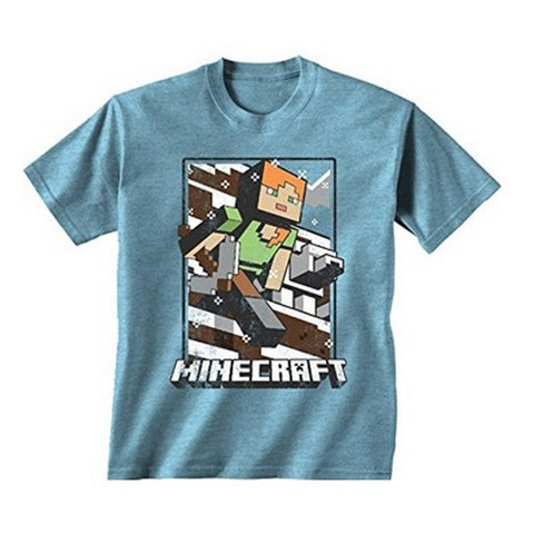 Minecraft - Vintage Tundra Explorer Youth T-Shirt
