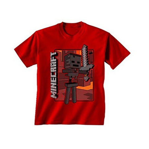 Minecraft - Vintage Wither Skeleton Youth T-Shirt