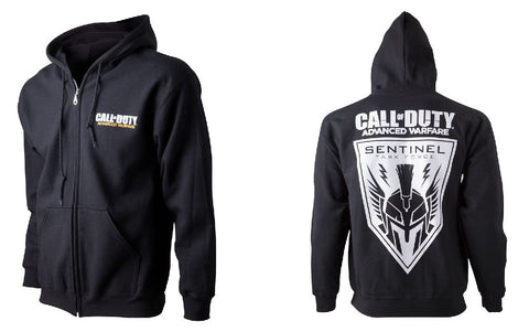 Call of Duty Advanced Warfare Sentinel Task Force Full Length Zipper Hoodie