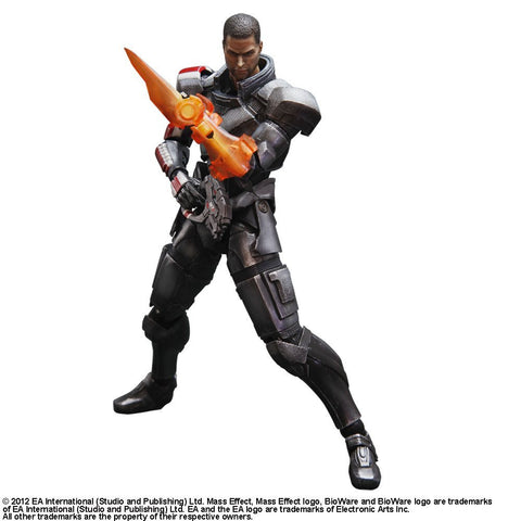 Mass Effect 3 Play Arts Kai Commander