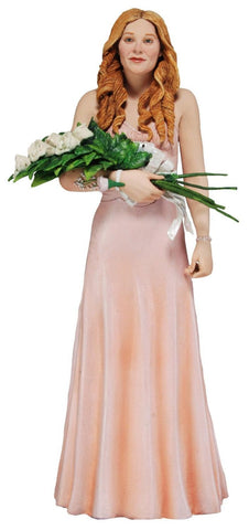 "Carrie 7"" White Prom Dress Action Figure"