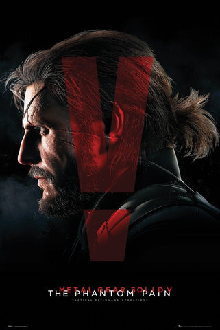 Metal Gear Solid V: Phantom Pain Cover Poster