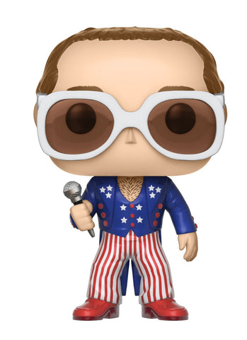 Funko POP Elton John Red White And Blue Vinyl Figure