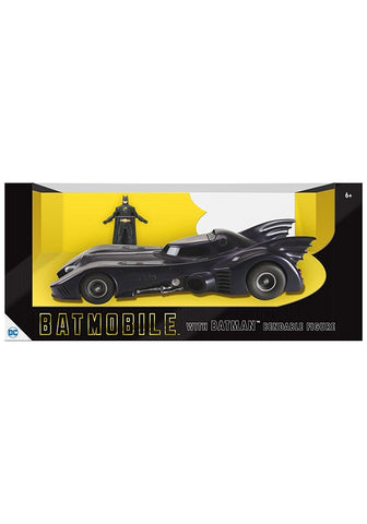Batman 1989 Batmobile 124 Scale Bendable Figure