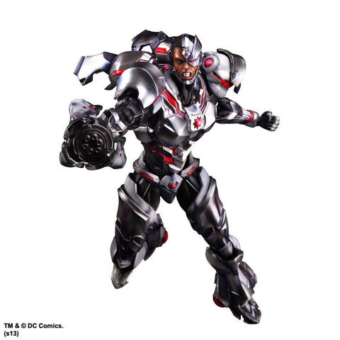DC Comics Variant Play Arts Kai Cyborg Action Figure