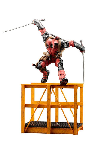 ArtFX Super Deadpool Marvel Now Statue