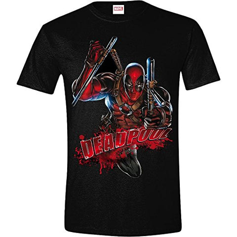 Deadpool Attack T-Shirt