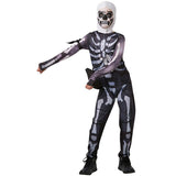 Original Fortnite Skull Trooper Jumpsuit Costume