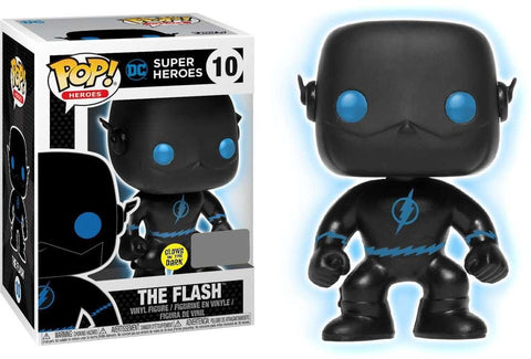 Funko POP Justice League Flash Silhouette Glow In The Dark Vinyl Figure