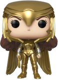 Funko POP! Movies: Wonder Woman 1984 - Wonder Woman Gold Power (Metallic) Vinyl Figure