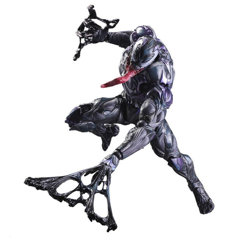 Marvel Universe Play Arts Kai Venom Action Figure
