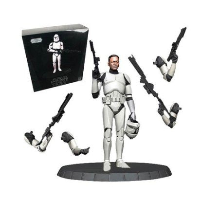 Star Wars Deluxe Statue White Clone Trooper