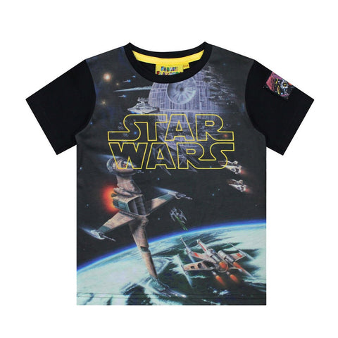 Star Wars Logo Spacescape Tee 5/6