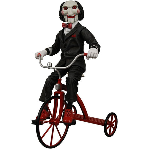 "Saw 12"" Action Figure With Tricycle"