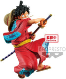 One Piece Monkey D Luffy  King Of Artist Wano Country Statue