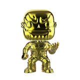 Funko POP! Marvel: Avengers Infinity War Exclusive Thanos Yellow Chrome Vinyl Figure