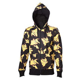 Pokemon Men's Pikachu All Over Hoodie