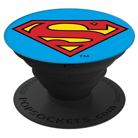 PopSockets Grip & Stand for Phones and Tablets  Superman Icon
