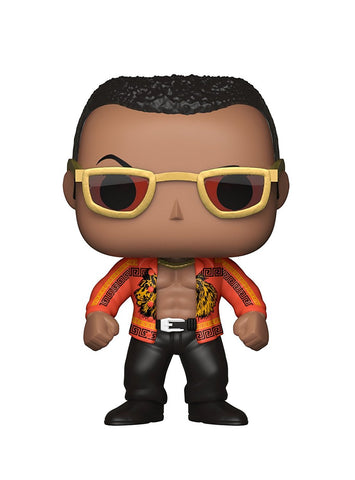 POP WWE The Rock Old School Vinyl Figure