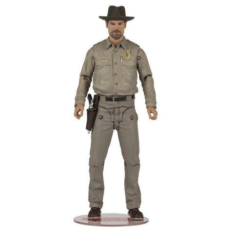 McFarlane Stranger Things Chief Hopper Action Figure