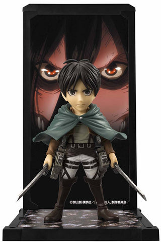 Attack on Titan: Eren Yeager Tamashii Buddies Mini-Statue