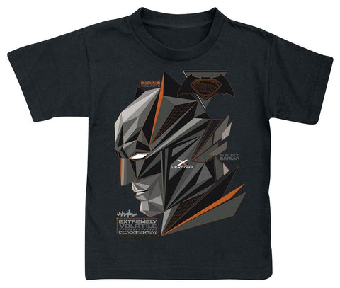 Batman v Superman Cubic Head Kids T-Shirt