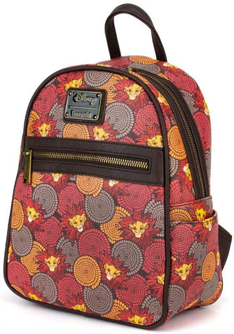 Loungefly The Lion King Printed Mini Backpack