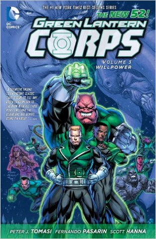Green Lantern Corps Vol 3 Willpower