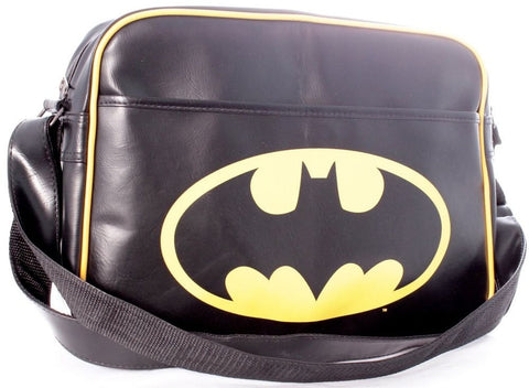 Superman Logo Messenger Bag Blue