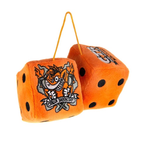 Crash Team Racing Nitro-Fueled Car Hanging Furry Dice