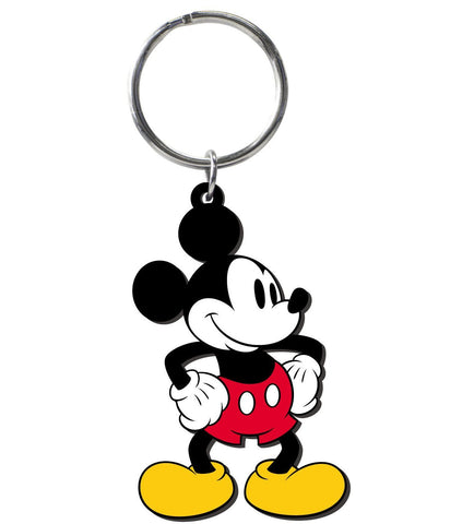 Mickey Mouse Retro Soft Touch Keychain