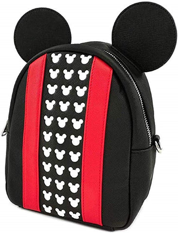 Loungefly Mickey Applique & Debossed Detail Backpack