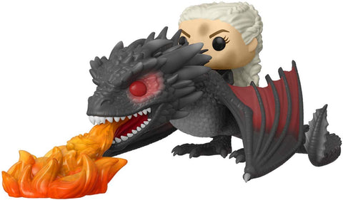 Funko POP! Game of Thrones Daenerys on Fiery Drogon Vinyl Figure