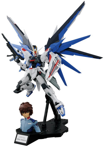 Dramatic Combination MG Freedom Gundam Ver 2.0 & Kira Yamato Gundam Seed Action Figure