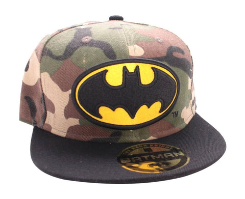 Batman Army Print Logo Cap Army/Black
