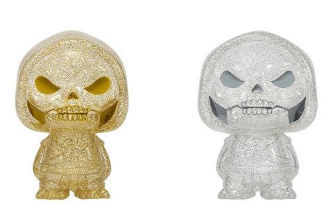 POP Masters of the Universe Skeletor Gold & Silver Hikari Vinyl Figure