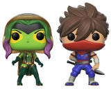 Funko POP Marvel vs. Capcom Gamora VS Strider Vinyl Figure
