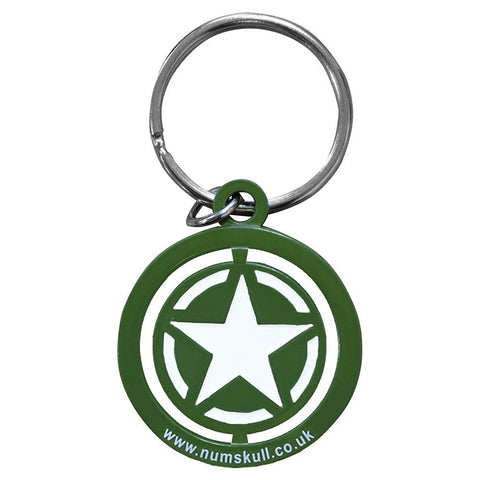 Call of Duty: WWII Freedom Star Spinner Keychain
