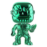 Funko POP! Marvel: Avengers Infinity War Exclusive Thanos Green Chrome Vinyl Figure