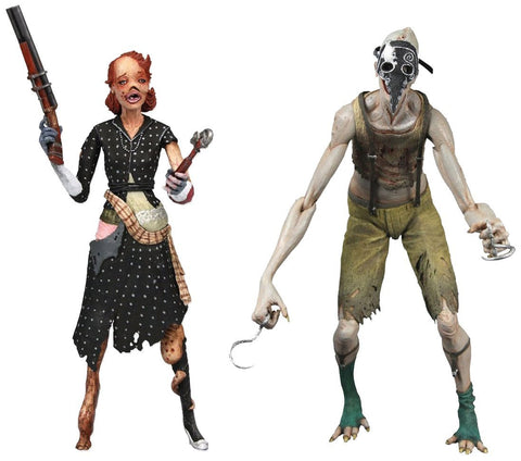 "Bioshock Splicer 2 Pack 7"" Figure Ladysmith & Crawler"