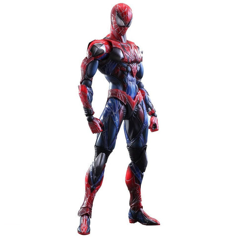 Marvel Universe Play Arts Kai Spiderman Action Figure
