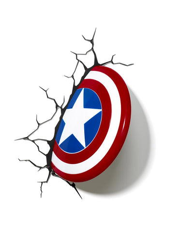 Captain America Shield 3D Nightlight