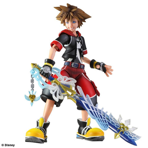 Kingdom Hearts 3D Sora Play Arts Kai Action Figure