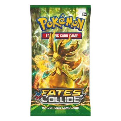 Pokemon - XY Fates Collide Booster Pack Game Card