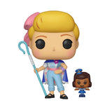Funko POP! Disney Toy Story: POP Bo Peep With Officer Giggles McDimples Vinyl Figure