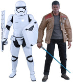Hot Toys Star Wars The Force Awakens Finn and Riot Stormtrooper 1/6 Scale Action Figure