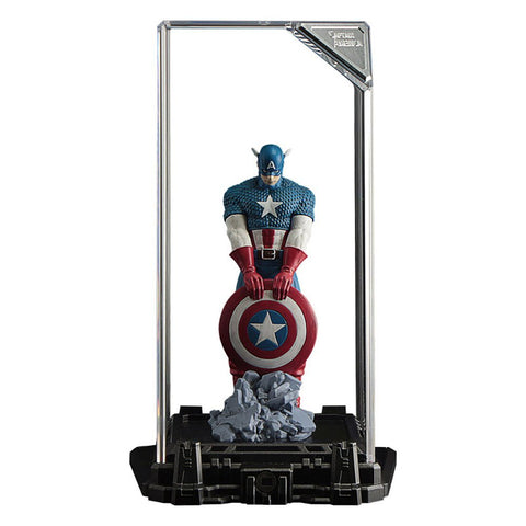 Marvel Captain America Super Hero Illuminate Gallery Statue