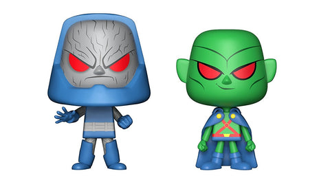 Funko POP Martian Manhunter & Darkseid Vinyl Figure