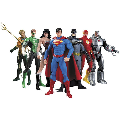 DC Comics Justice League 7-Pack Action Figure Box Set